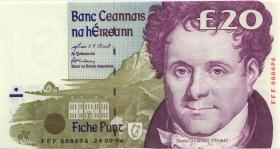 Irland / Ireland P.77r3 20 Pounds 1999 FFF replacement (1)