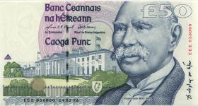 Irland / Ireland P.78ar 50 Pounds 1996 EEE replacement (1)