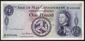 Insel Man / Isle of Man P.25b 1 Pound (1961) (1-)