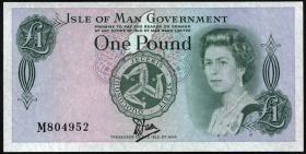 Insel Man / Isle of Man P.38 1 Pound (1983) Tyvek (1-)