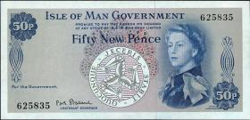 Insel Man / Isle of Man P.27 50 New Pence (1969) (1)