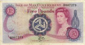 Insel Man / Isle of Man P.35a 5 Pounds (1979) (3)
