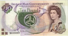 Insel Man / Isle of Man P.46 10 Pounds (2007) (1)