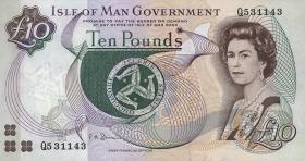 Insel Man / Isle of Man P.44b 10 Pounds (1998) (1)