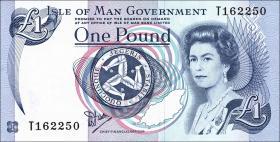 Insel Man / Isle of Man P.40a 1 Pound (1983) (1)
