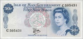 Insel Man / Isle of Man P.33 50 New Pence (1979) (1)
