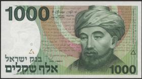 Israel P.49b 1000 Shekel 1983 (1)