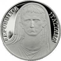 Italien 10 Euro 2014 Kaiser Augustus