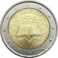 Italien 2 Euro 2007 Römische Verträge