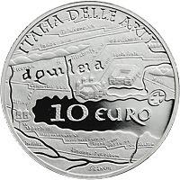 Italien 10 Euro 2010 Aquileia