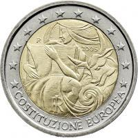 Italien 2 Euro 2005  EU-Verfassung