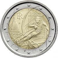 Italien 2 Euro 2006 Oly. Turin
