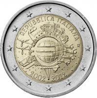 Italien 2 Euro 2012 Euro-Bargeld