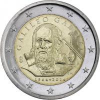 Italien 2 Euro 2014 Galileo Galilei