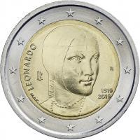 Italien 2 Euro 2019 Leonardo da Vinci