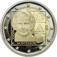 Italien 2 Euro 2020 Montessori PP