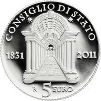 Italien 5 Euro 2011 Staatsrat