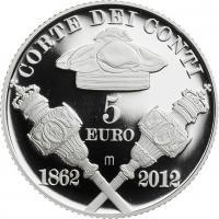 Italien 5 Euro 2012 Rechnungshof