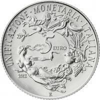Italien 5 Euro 2012 Währungsunion