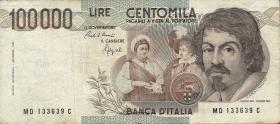 Italien / Italy P.110b 100.000 Lire 1983 (3)