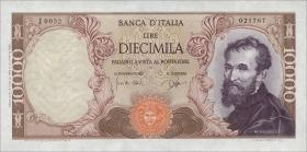 Italien / Italy P.097a 10000 Lire 1962 (1)