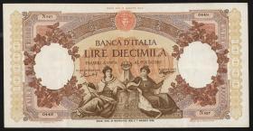 Italien / Italy P.089c 10.000 Lire 1955 (3)