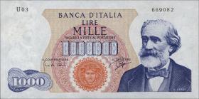 Italien / Italy P.096a 1000 Lire 1962 (1)