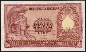 Italien / Italy P.092b 100 Lire 1951 (2)