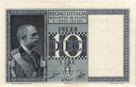 Italien / Italy P.025c 10 Lire 1944 (3)