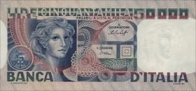 Italien / Italy P.107a 50000 Lire 1978 (1)
