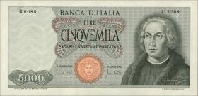 Italien / Italy P.098c 5000 Lire 1970 (1)