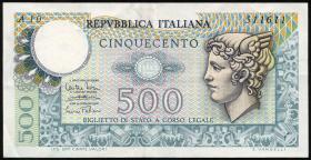 Italien / Italy P.094 500 Lire 1974 (3)