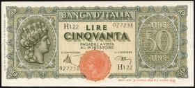 Italien / Italy P.074 50 Lire 1944 (2)