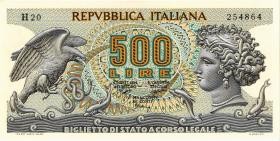 Italien / Italy P.093 500 Lire 1970 (1/1-)