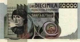 Italien / Italy P.106a 10.000 Lire 1976-78 (1-)