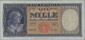 Italien / Italy P.088a 1000 Lire 1948 (1/1-)