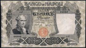 Italien / Italy P.S858 500 Lire 1919 Banco di Napoli (3)