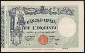 Italien / Italy P.047c 50 Lire 1935 (1-)