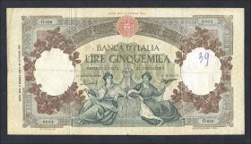 Italien / Italy P.085c 5000 Lire 1959 (4)