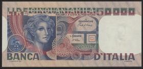 Italien / Italy P.107d 50.000 Lire 1982 (1)