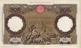 Italien / Italy P.055b 100 Lire 1937 (3)