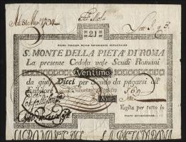 Italien - Vatikan P.S319 21 Scudi 1792 (1-)