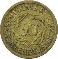 J.310 • 50 Rentenpfennig 1924 F