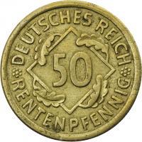 J.310 • 50 Rentenpfennig 1924 G