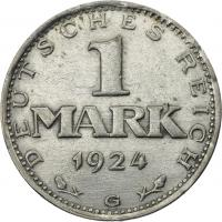 J.311 • 1 Mark 1924 G