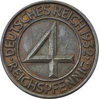 J.315 • 4 Reichspfennig 1932 E