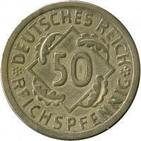 J.318 • 50 Reichspfennig 1924 A