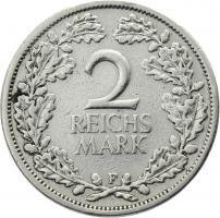 J.320 • 2 Reichsmark 1925 F