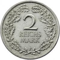 J.320 • 2 Reichsmark 1926 F