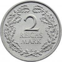 J.320 • 2 Reichsmark 1927 A